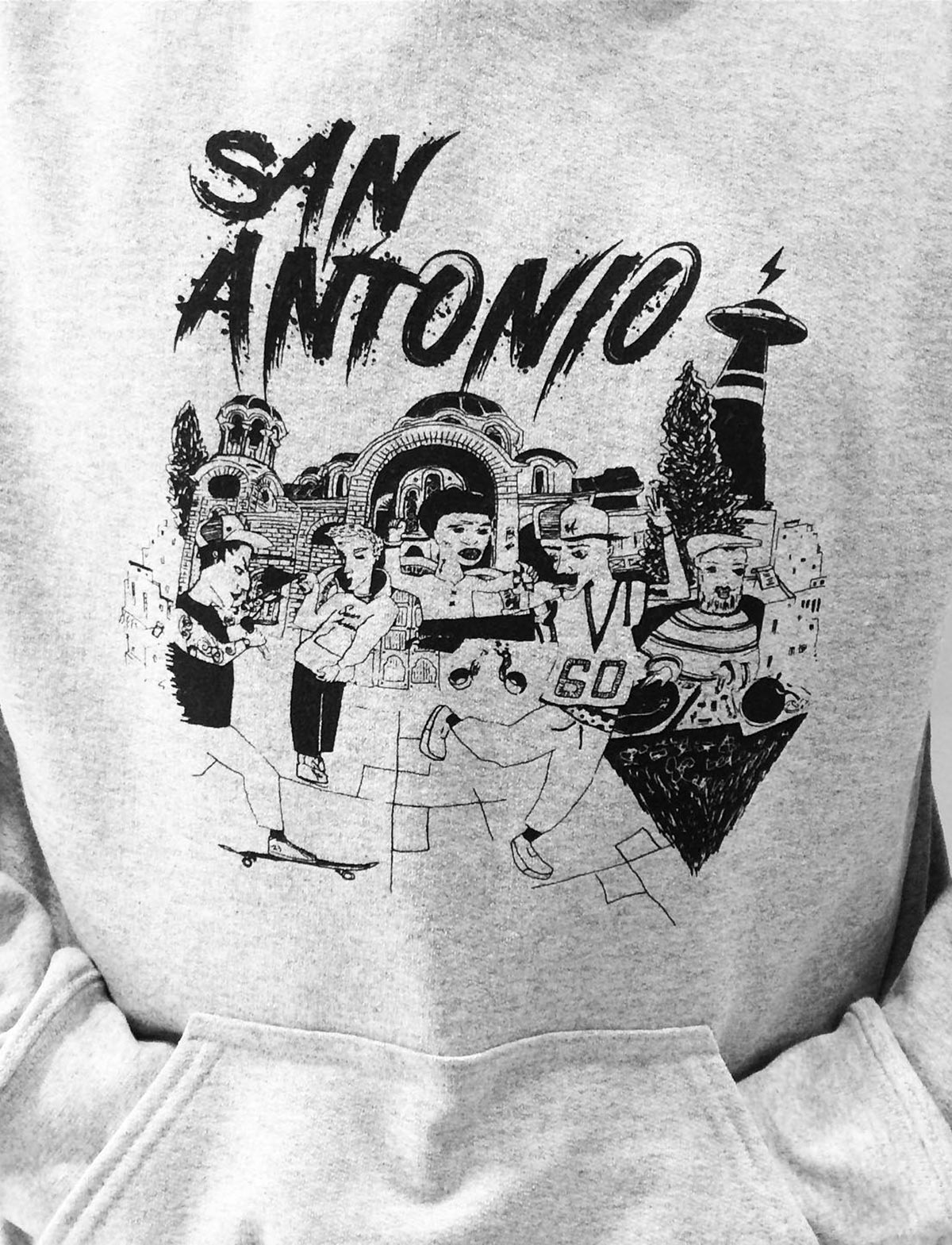 San Antonio hoodies