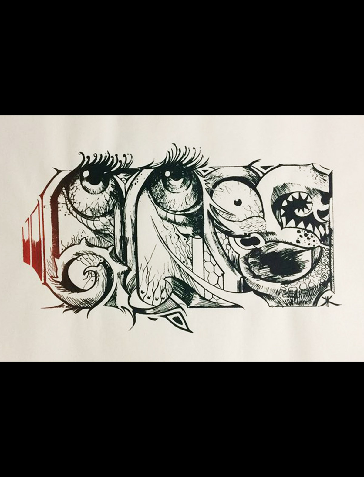 kk story, artwork by Konstantinos Karakostas on transparent paper